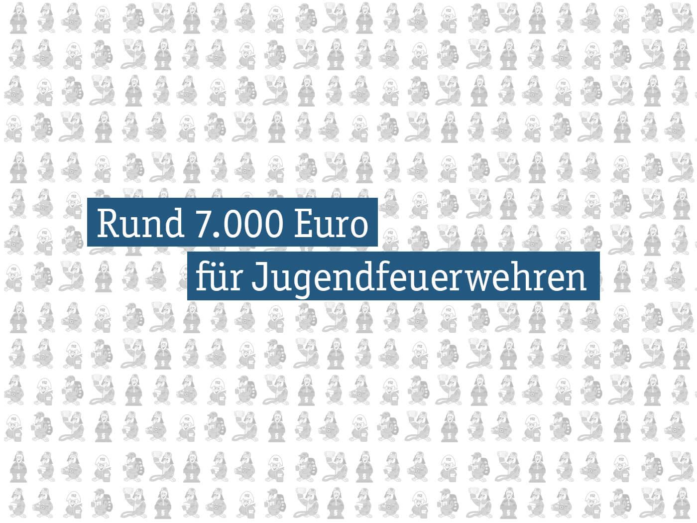 Rund 7.000 Euro für Jugendfeuerwehren