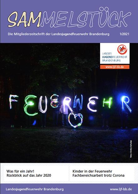 Cover Mitgliederzeitschrift Sammelstück Ausgabe 1 / 2021
